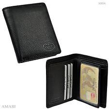 AMARI Geldbörse klein flach leicht für viele Karten Portemonnaie Geldbeutel