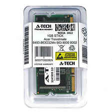 1GB SODIMM Acer Travelmate 6493-863G32Mn 663 8000 8002 8002LCi Ram Memory