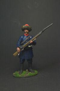 Tin soldier figure Jaeger of the 16th regiment, Major General Likhachev 54 mm