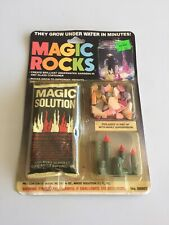 Magic Rocks With Figure Craft House 1994 In Package Toy