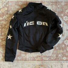 Icon Jacket Coat - Motorcycle Womens Black S