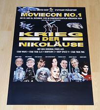 STAR WARS Krieg der Nikoläuse - original Convention Poster - 1998 - RARE