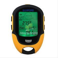 Digital LCD Altimeter Barometer Compass Thermometer Hygrometer Forecast Portable