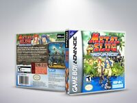Metal Slug Advance - GBA - Replacement Cover / Case (NO Game) - PAL/US