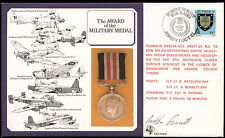 Jersey 1985 RAF DM6 Military Medal Flown Signed Cover #C24931