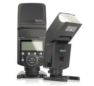 Meike MK-420 TTL Camera Flash Speedlite for Fuji Fujifilm X-T20 X-E2 X-A5 X100s