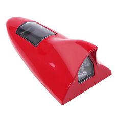 Red Car Solar Shark Fin Antenna Decorative Style Warning Light for Honda Mazda