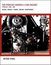 Porsche Carrera 4-Cam Engines (Type 547 692 587 Fuhrmann) book manual Peter Pohl