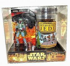 Star Wars Target Exclusive Return of the Jedi Boba Fett Figure & Cup/Glass MINT