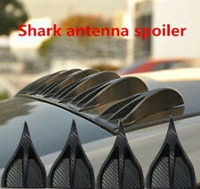 8pcs Adheres Decoration Vortex Generator Shark Fin Spoiler Wing for Roof Trunk