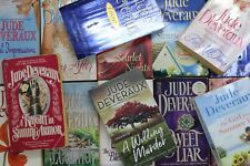 Lot of 10 Jude Deveraux Romance Mass Market Paperback Books MIX