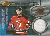 2000-01 Aurora Dual Game-Worn Jerseys #1 Petr Sykora/Saku Koivu Jersey /200