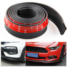 Front Bumper Lip Splitter Body Spoiler Valance Chin for Audi A3 A4 A6 A8 Black