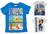 Boys Paw Patrol T-shirt Official Licence Short Sleeve Kids Top Age 3-6 Years