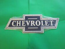 tin metal decor gas oil dealer garage repair shop advertising chevrolet m316