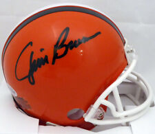 JIM BROWN AUTOGRAPHED SIGNED CLEVELAND BROWNS MINI HELMET BECKETT 145330
