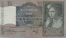 🇳🇱 10 Gulden - 1940 - Niederlande - P-56a 🇳🇱