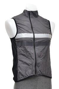 Rapha Brevet Gilet Packable Vest Men MEDIUM Grey Road Bike Mountain Gravel MTB