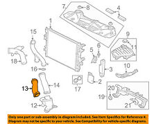 JAGUAR OEM 10-18 XJ 5.0L-V8 Radiator-Cooler Pipe C2Z22073