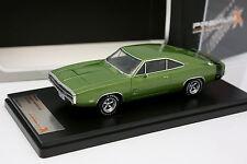 Premium X 1/43 - Dodge Charger 500 1970 Verde