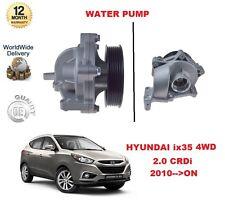 für Hyundai ix35 2.0 CRDi 4WD 2010> auf Wasser Pumpe