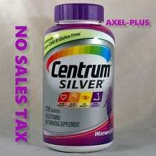 Centrum Silver MultiVitamin MultiMineral Complete Vitamin 250 Tabs Women Over50+