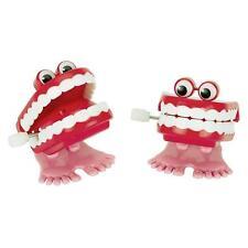 Klappergebiss, Zähne zum Aufziehen