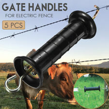 5 PCS Electric Gate Handle Fencing Wire Insulators Safe Tool For Electric Fence
