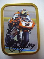 Chris Walker firmato HM PLANT GSE RACING DUCATI tobacco TIN