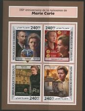 DJIBOUTI  2017  150th BIRTH ANNIVERSARY OF MARIE CURIE SHEET MINT NH