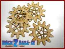 Steampunk Cogs Gears Wheel Laser Cut MDF Decorative Accessory 100mm x 3mm COG13