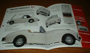 ★★1951 NASH-HEALEY ORIGINAL IMP BROCHURE SPECS INFO 51 52 53 54 1952 1953 1954★★