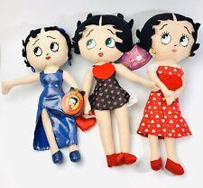 Betty Boop Plush Doll Kelly Toy Sugarloaf - Lot of 3