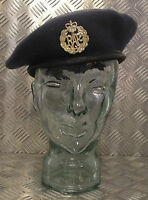 Genuine British Issue Royal Air Force Blue Grey Wool Beret RAF WRAF - All Sizes