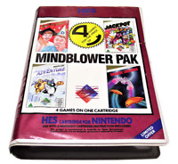 Mindblower Pak Nintendo HES NES Boxed PAL Piggy Back #2