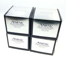 4 x AVON Anew Platinum Define & Contour Day Cream SPF 25 50ml - 1.7oz SET !