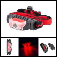 XPE & LED Mini Headlamp Headlight Head Lamp Light IPX-5 Torch Flashlight 4 Modes