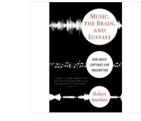 MUSIC THE BRAIN AND ECSTASY by Robert Jourdain FREE SHIPPING paperback book