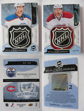 2011-12 UD The CUP Leblanc Nugent-Hopkins 1/1 dual NHL shields RC rookie 1 of 1