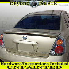 For 2002 2003 2004 2005 2006 Nissan ALTIMA Factory Style Spoiler w/LED UNPAINTED