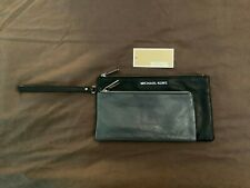 Michael Kors Like New Tippi Double Zip Large Wristlet Clutch Purse Wallet MK