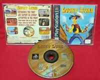 Lucky Luke Cowboy Adventure - Playstation 1 2 PS1 PS2 Game Complete Tested Rare