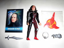 STAR TREK Loose Figure KÉhleyr with Stand and Accessories TNG Pack Fresh!
