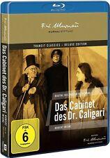 DAS CABINET DES DR. CALIGARI (Friedrich Feher, Werner Krauss) Blu-ray Disc NEU