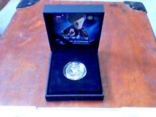 Royal Mint UK Silver Proof Medal/Coin Doctor Who Series Matt Smith 2010 NEW