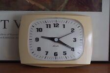 Retro Jaz Electric Quartz Clock, Mid Century Classic, Rare, Vintage France made