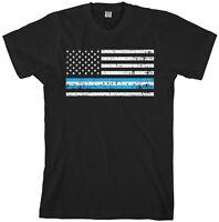 Chicago American Flag Men's T-Shirt US State Patriotic