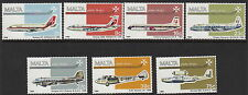 MALTA : 1984 Air set  SG729-35 unmounted mint