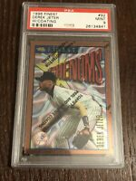 1996 Topps Finest Derek Jeter Rookie PSA 9, #92 Phenoms Card, Hall Of Fame