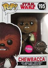 STAR WARS Chewbacca (+Porg) - Limited Flocked Edition - Funko Pop! The Last Jedi